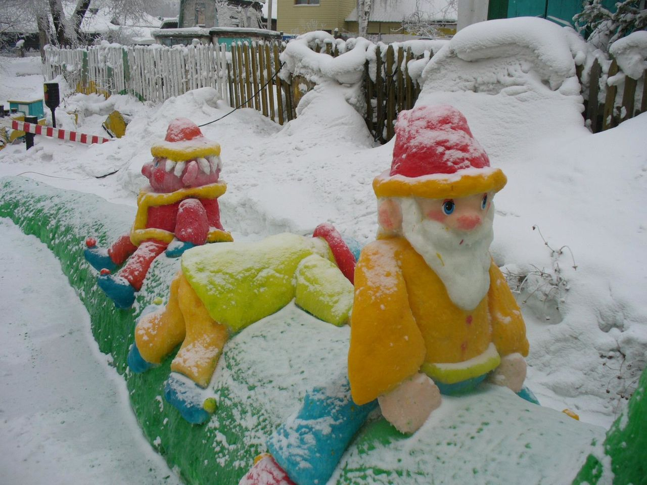 Зимние постройки своими руками