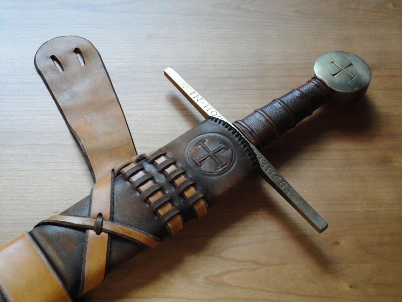 Как сделать ножны для ножа