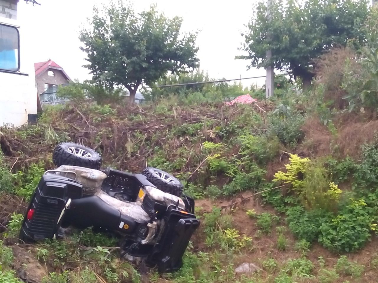 Под Кемеровом умер школьник наквадроцикле
