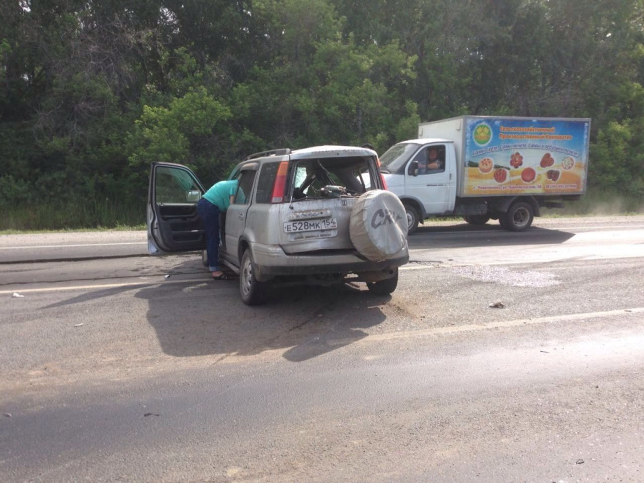 «Газель» сдетьми угодила  в трагедию  вНовосибирске
