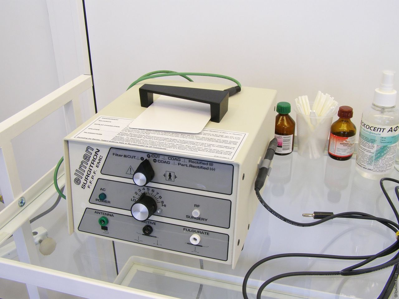 Сургитрон для удаления остроконечных кондилом