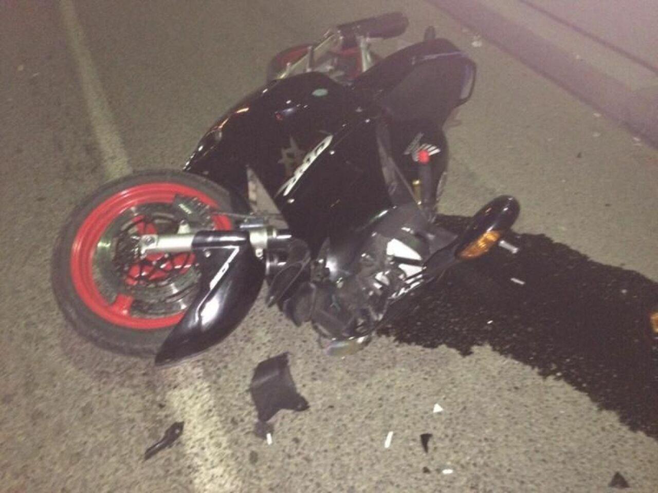 ВАнжеро-Судженске разбился насмерть 30-летний мотоциклист