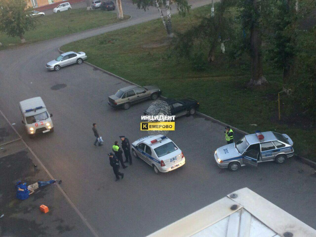 ВКузбассе молодой мужчина упал свысоты иразбился насмерть
