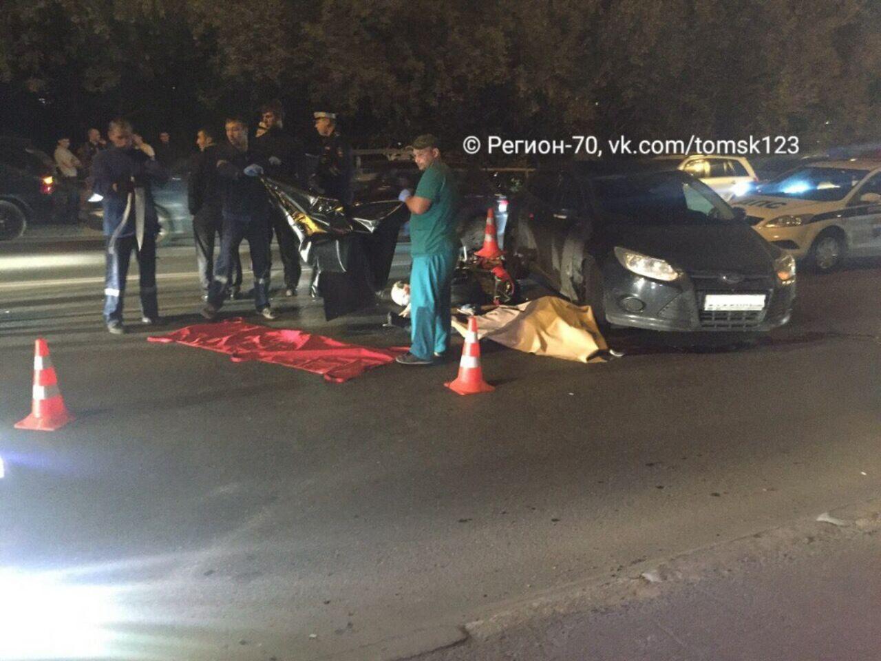 ВТомске вДТП наКрасноармейской умер мотоциклист