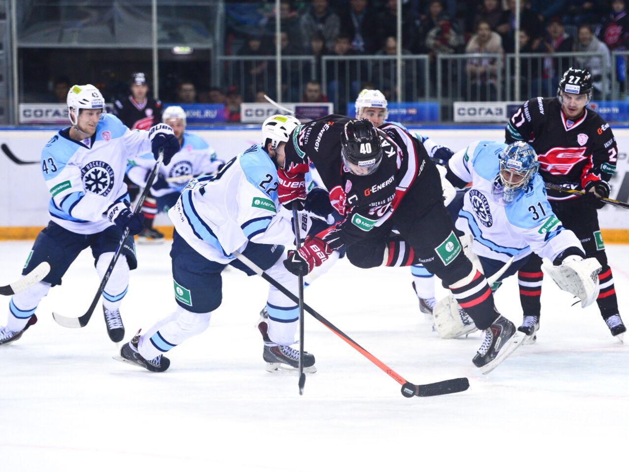 Омский «Авангард» в63 раз обыграл новосибирскую «Сибирь»