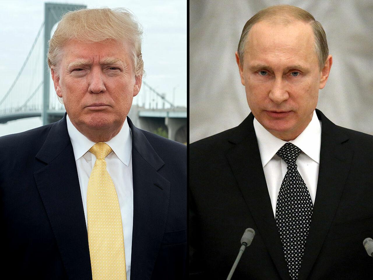 Путин впоздравлении Трампу спобедой объявил о разговоре столицы иВашингтона