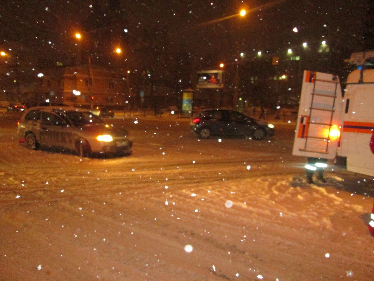 Новосибирские cотрудники экстренных служб МАСС попали вДТП