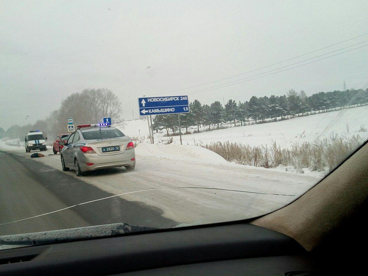 ВКемеровском районе шофёр Опель Corsa убил женщину