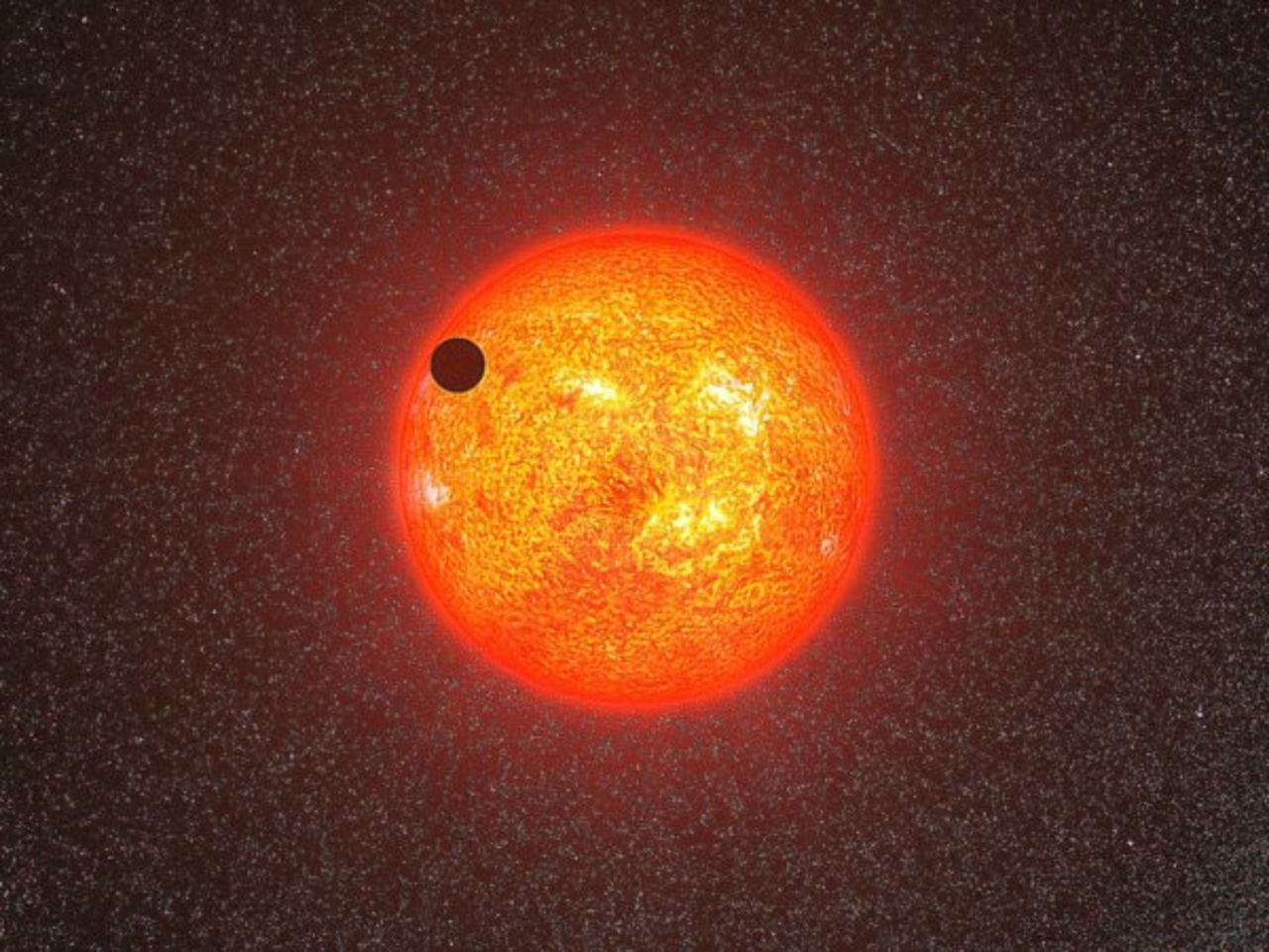 Вдалеком космосе найдена «звезда смерти», поглощающая собственные планеты