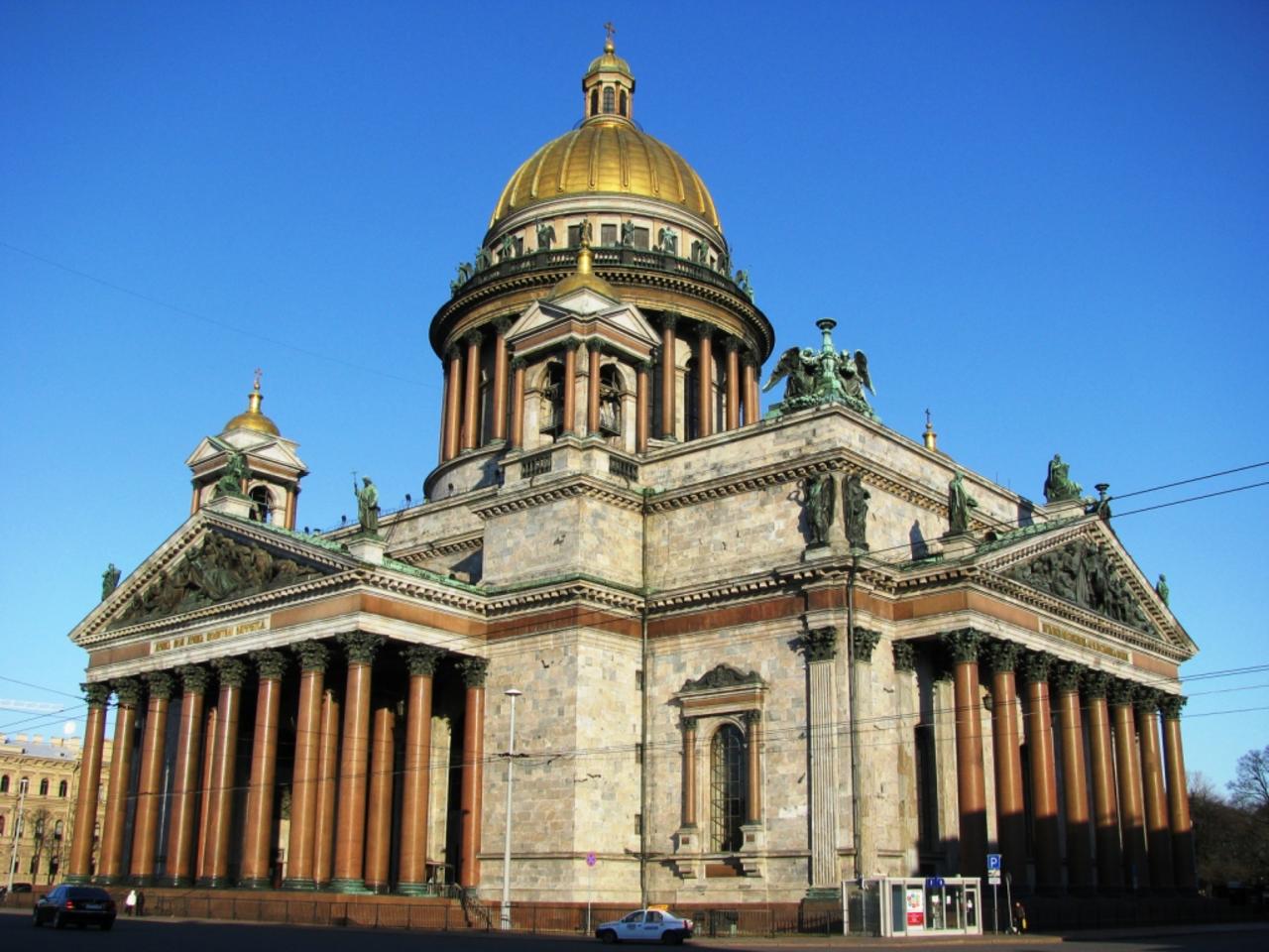 Исаакиевский храм остается всобственности Петербурга— Смольный