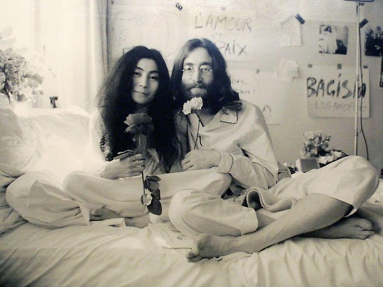 Обистории симпатии Джона Леннона иЙоко Оно снимут фильм