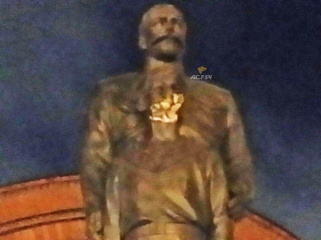 Гражданин Российской Федерации напал с тесаком на монумент