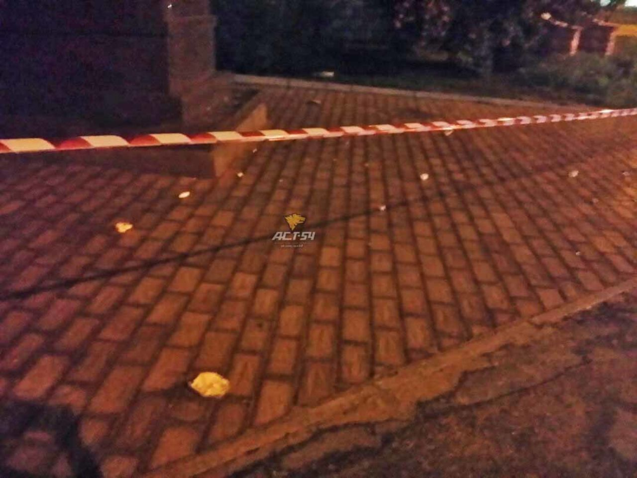 ВНовосибирске вандал с тесаком набросился на монумент НиколаюII