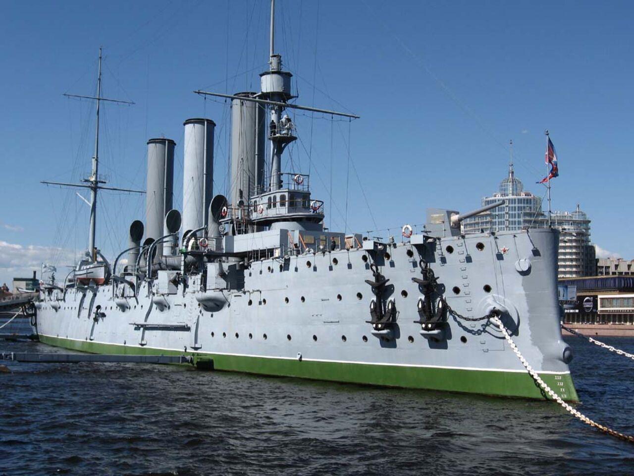 Крейсер «Аврора» непланируют торговать «Бургер кингу»