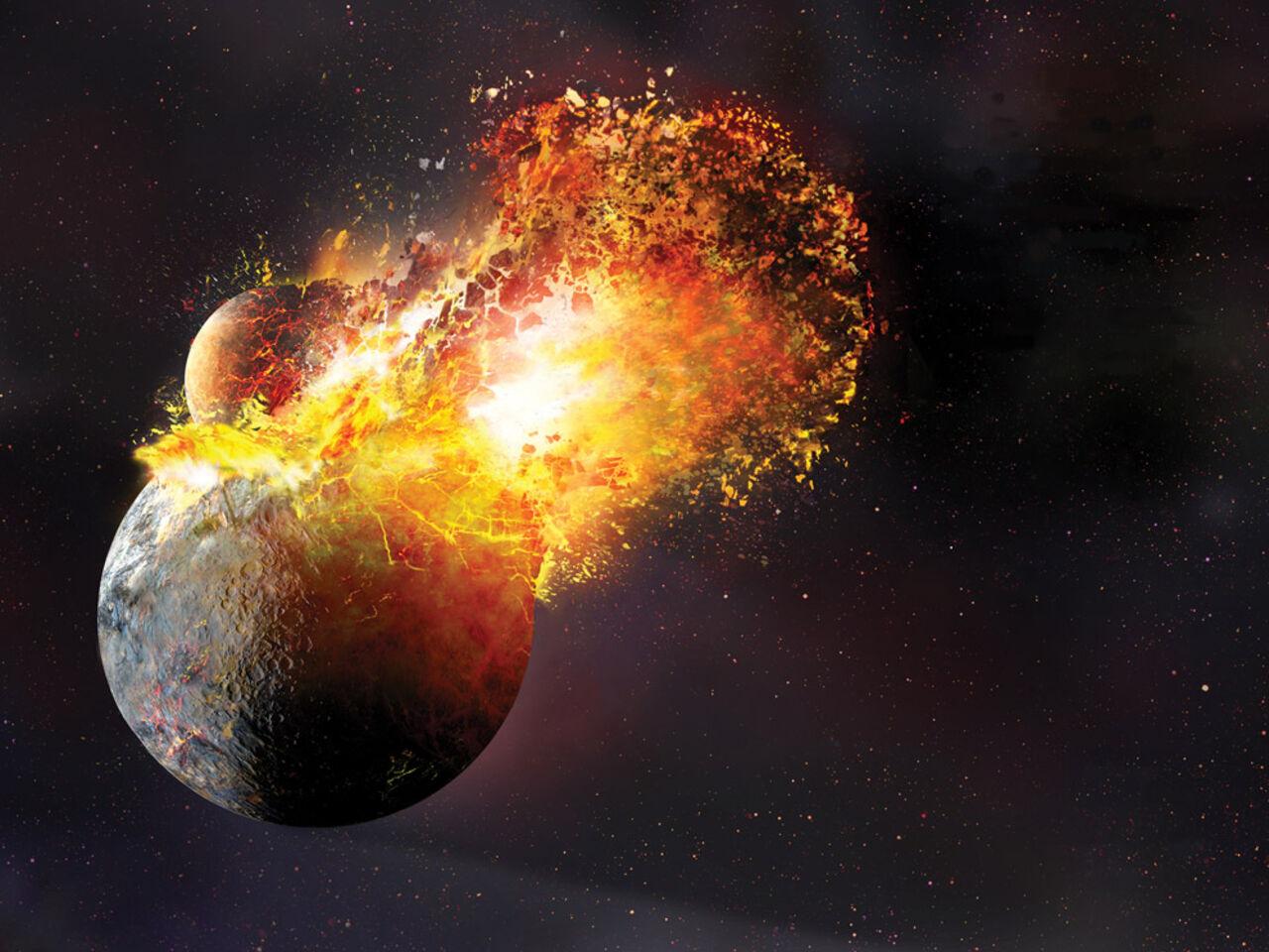 Геологи обнаружили следы множества иных планет внедрах Земли