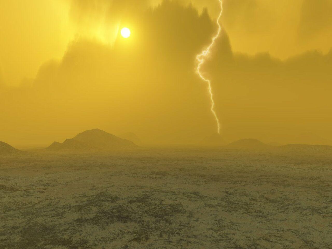 Вкислотных облаках Венеры отыскали признаки жизни