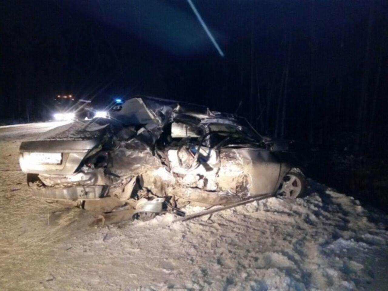 Сургут вХМАО: Дорожная авария парализовала движение натрассе Нефтеюганск