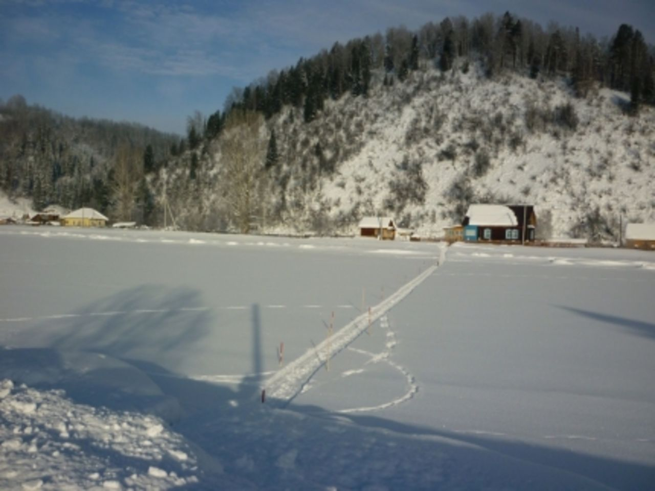 Наюге Кузбасса будут открыты 4 ледовые переправы через Мрассу