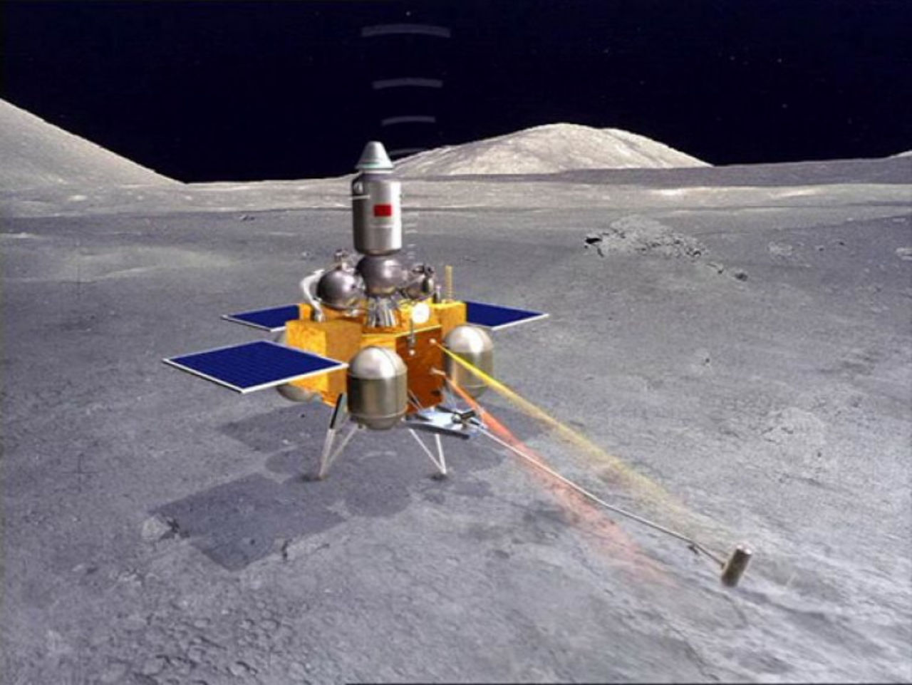 КНР отправит наЛуну возвращаемый аппарат «Чанъэ-5»