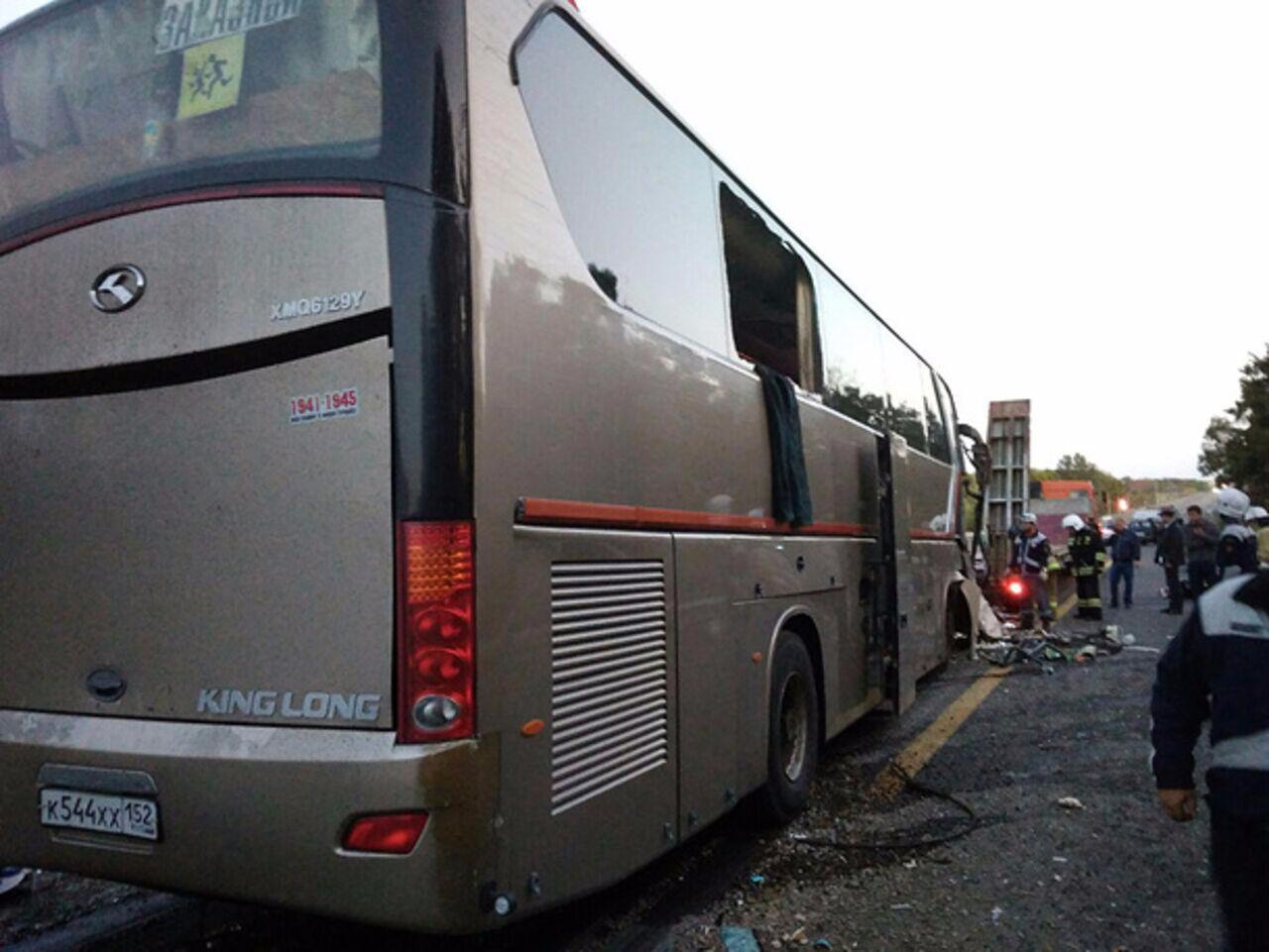 Ужасное ДТП наКубани: шофёр автобуса мог заснуть зарулем