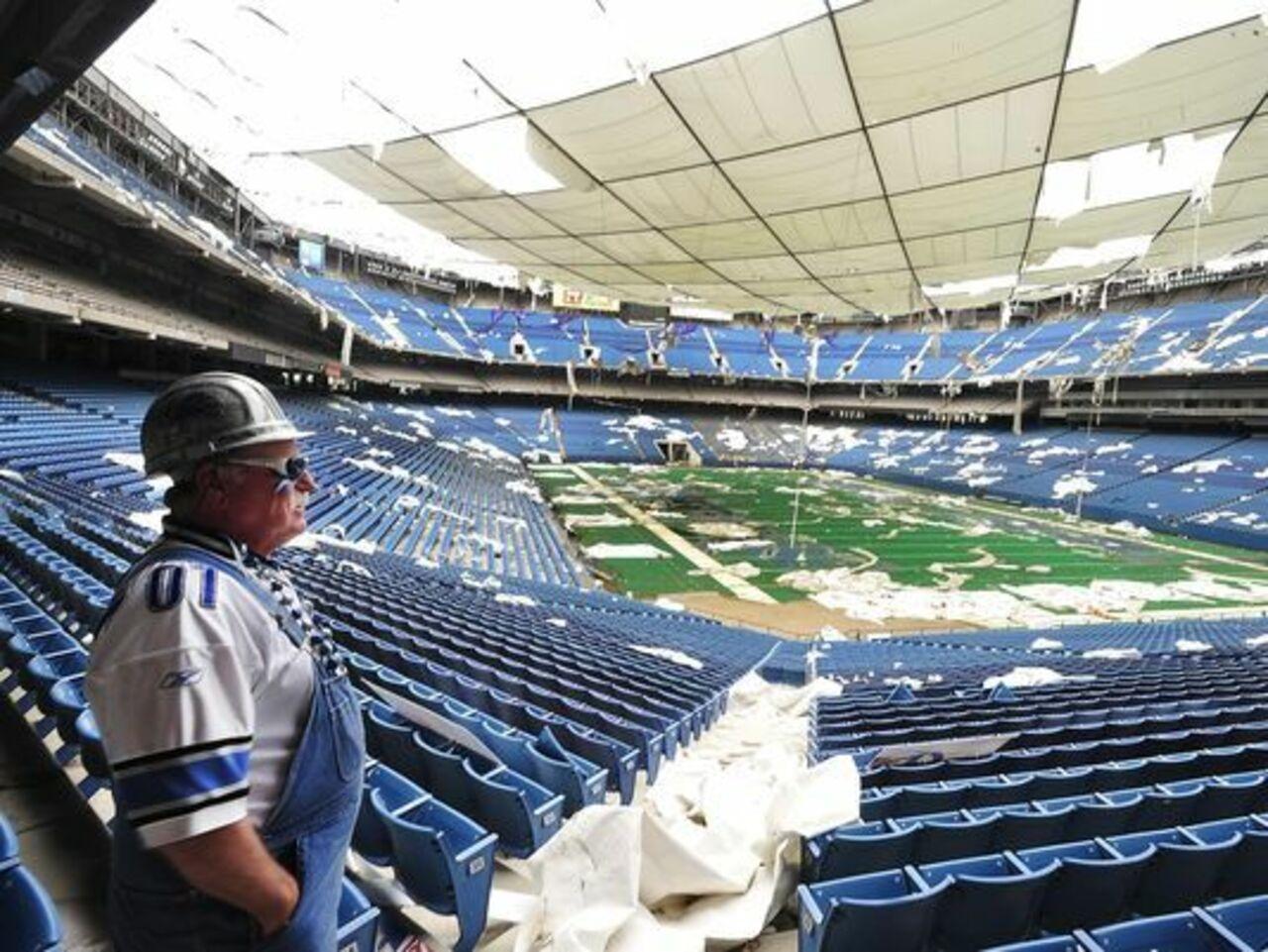 Стадион вСША устоял после серии мощных взрывов