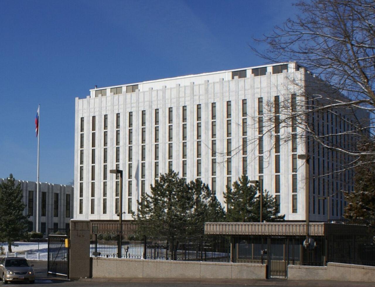 Посольство РФ вСША усилило меры безопасности из-за Дня гнева