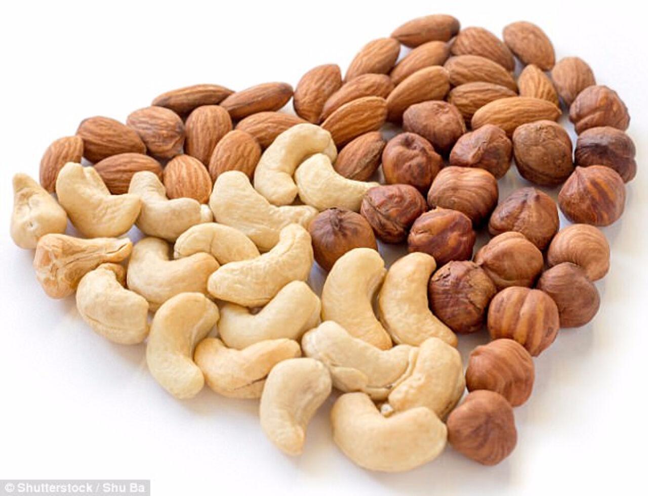 Орехи иарахис понижают  риск развития сердечно-сосудистых заболеваний