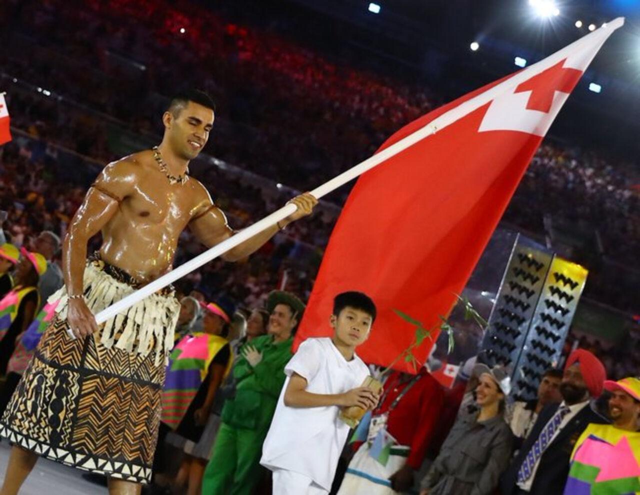 «Масляной» атлет изТонги выступит наОлимпийских играх