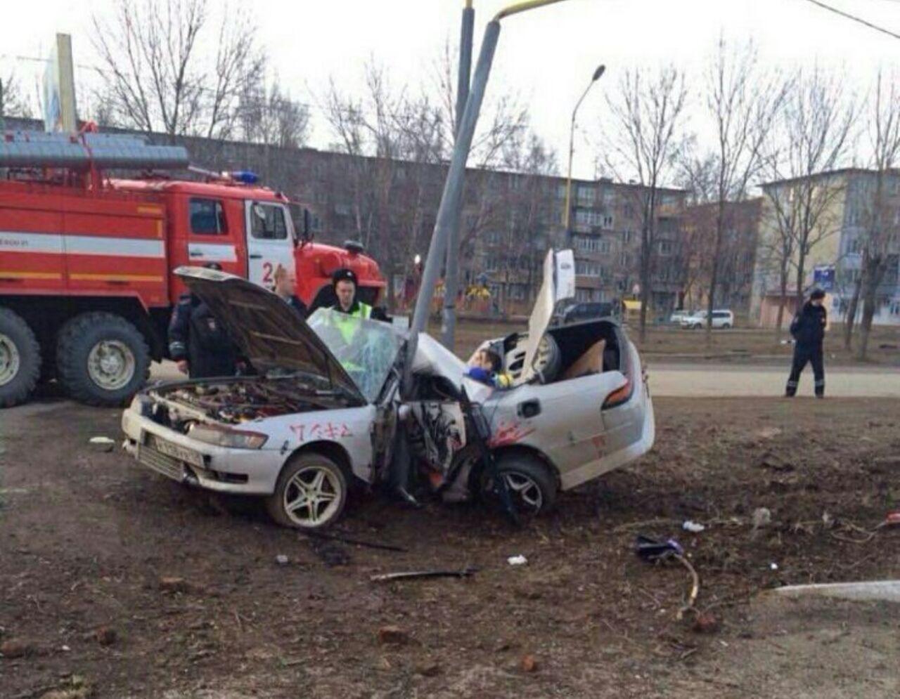 аварии Toyota Марк 2