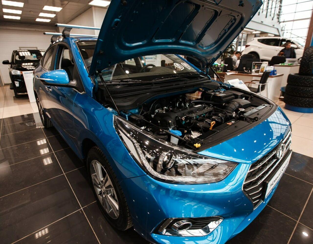 Hyundai Creta вноябре остается бестселлером марки вРФ