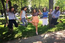 Праздник кемеровских выпускников в снимках Instagram
