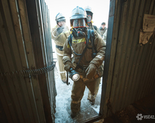 Этот поезд в огне: пожарные учения в трамвайном депо
