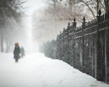Весна-2015: снег кружится, летает, не тает...