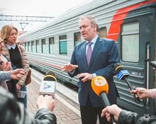 Маэстро Гергиев в Кемерове: встреча знаменитого дирижёра на вокзале