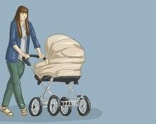 Квест для мамы: по городу с коляской