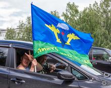 Расплескалась синева: День десантника в Кемерове