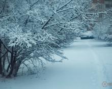 Кузбасская столица утопает в снегу