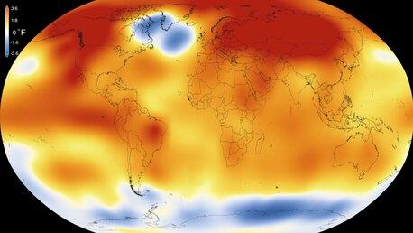 НАСА: 2015 год стал самым теплым на Земле с 1880 года