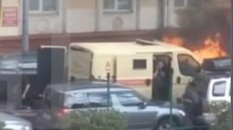 ВМВД проинформировали детали нападения наинкассаторов в столице России