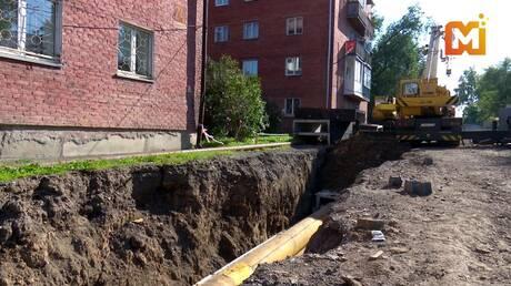 Названа причина падения строительного крана вКемерове