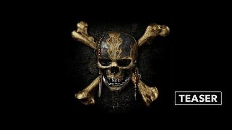Вышел 1-ый трейлер «Пиратов Карибского моря»