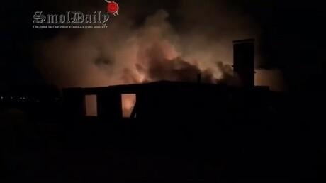 Видео сместа сурового расстрела под Смоленском попало вСеть