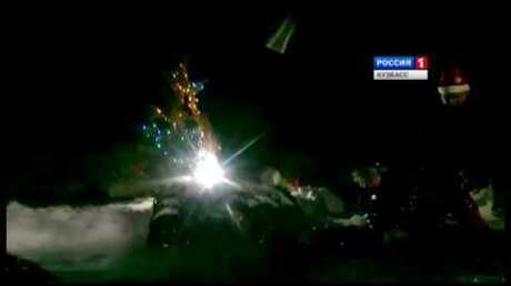 Кузбасские дайверы впервый раз встретили Новый год надне водоема