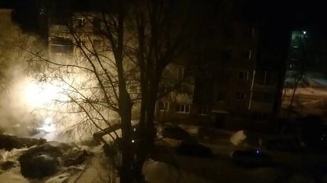 ВКировском районе Кемерова ночью произошла авария натеплосети