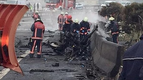 СКвозбудил дело после крушения вертолета вСтамбуле