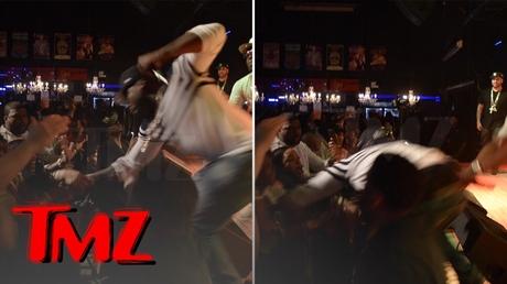 Рэпер 50 Cent избил фанатку наконцерте вБалтиморе