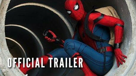 Размещены два трейлера к кинофильму «Человек Паук: Возвращение домой»