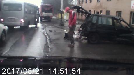 Шофёр автомобиля, который сделал «сальто», исчез сместа ДТП— ГИБДД Кузбасса