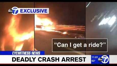 Виновник ДТП вНью-Йорке оставил пассажирку гореть вмашине