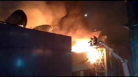 В итоге начавшегося впабе пожара вМумбаи погибли 15 человек